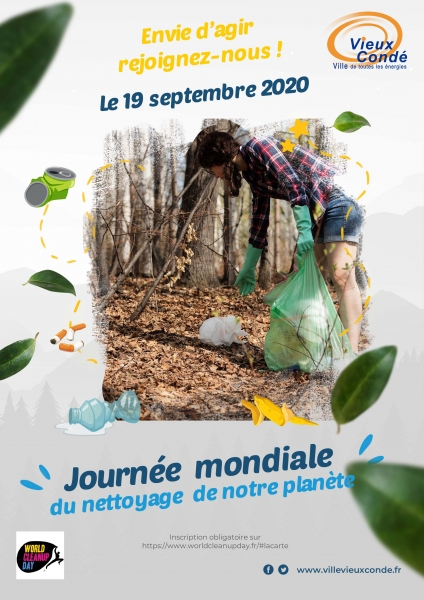 affiche worldcleanupday2020