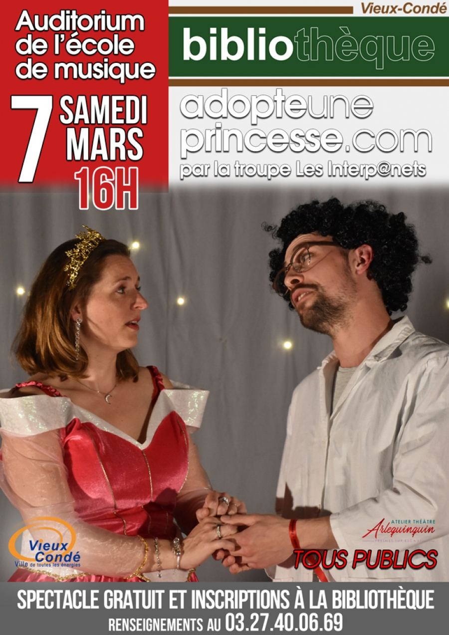 Spectacle Adopte