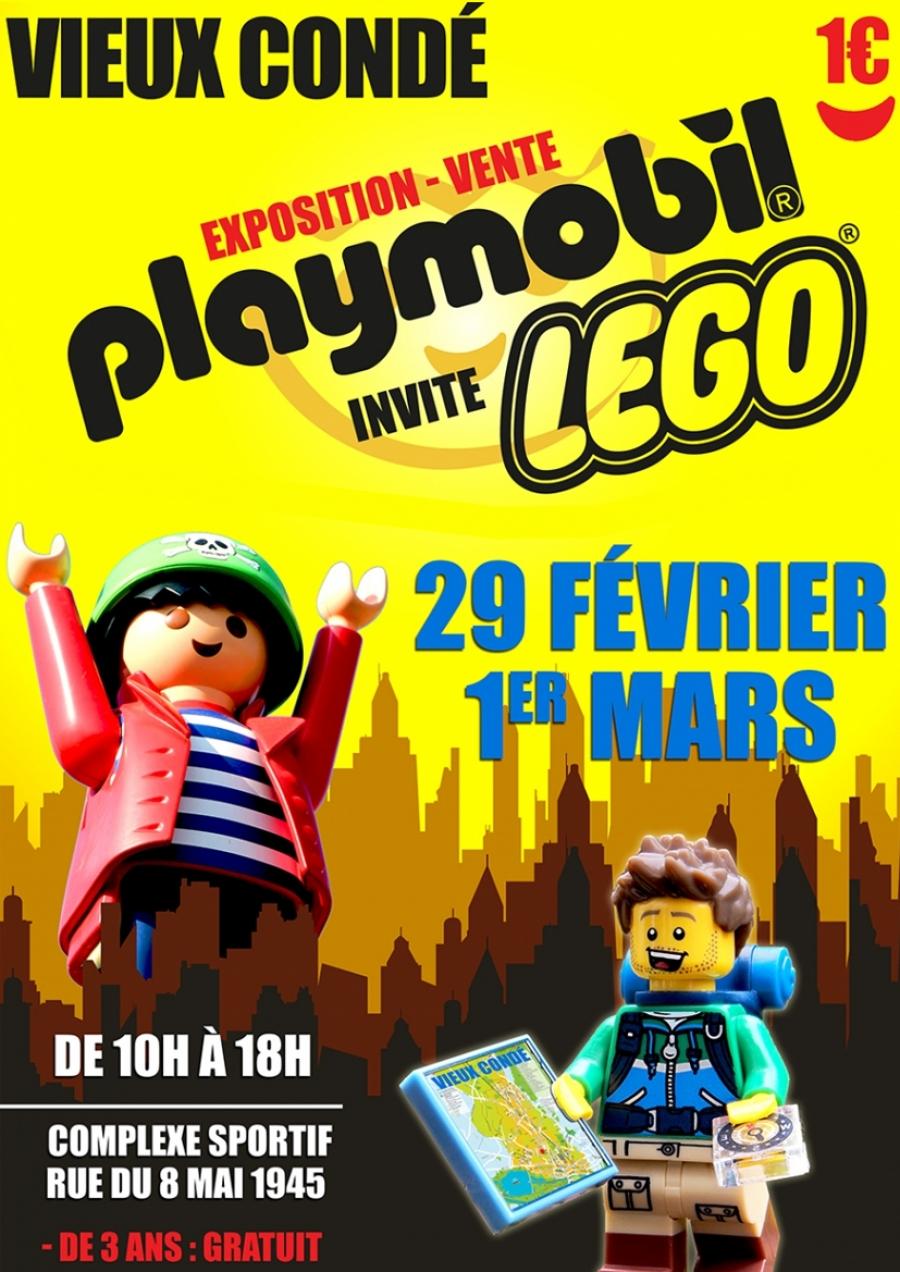 Exposition vente Playmobil