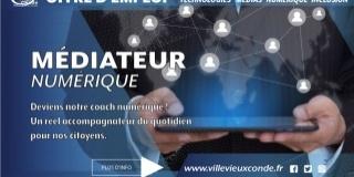 RECRUTEMENT Médiatieur social, inclusion numérique
